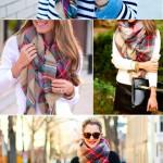 Comment porter, mettre, nouer maxi écharpe oversize ?