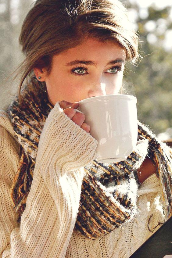 comment porter grosse echarpe laine