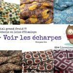 Foulard et écharpe couleurs tendance mode Automne hiver 2017
