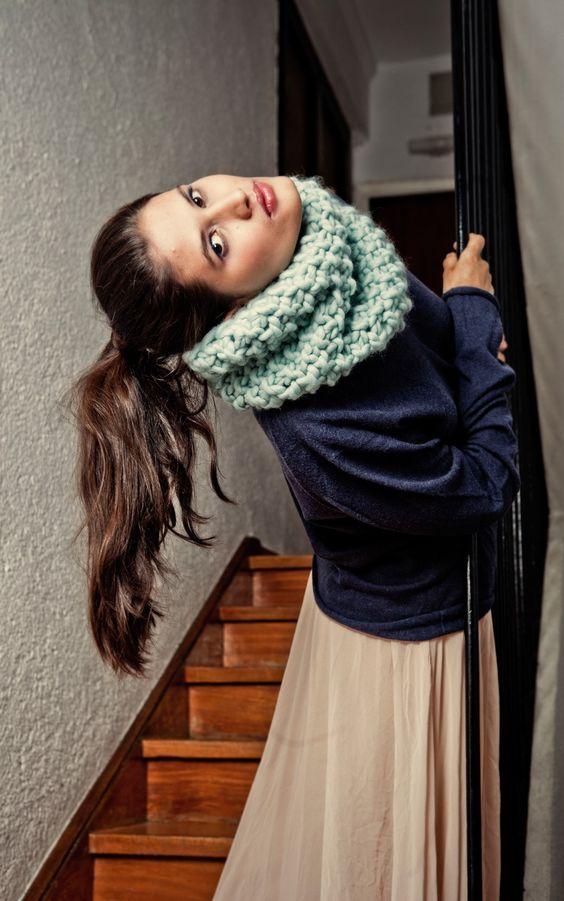 quelle laine choisir echarpe