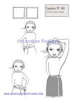 leçon numéro 66 :nœud de foulard en jupe longue