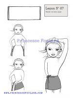 leçon numéro 67 :nœud de foulard en mini jupe