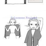 Nœud de foulard russe