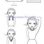 Nœud de foulard col