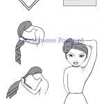 Attacher un foulard madras dans ses cheveux - tuto noeud