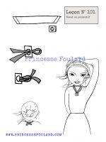Leçon numéro 101 : Nœud de foulard accroche pendentif