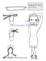 Leçon numéro 103 : Nœud de foulard à la tong