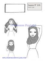 Leçon numéro 105 : Nœud de foulard en hijab