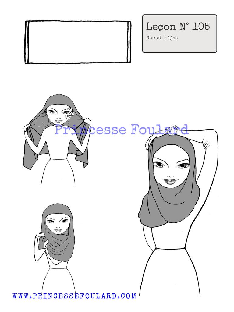 Nouer son foulard en hijab