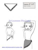 Leçon numéro 107 : Nœud de foulard oriental