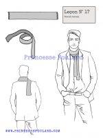 Leçon numéro 17 : Nœud de foulard casual pour homme