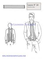 Leçon numéro 18 : Nœud de foulard caban pour homme