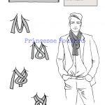 Faire un noeud de grosse écharpe ou foulard complexe