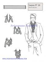 Leçon numéro 19 : Nœud de foulard complexe pour homme