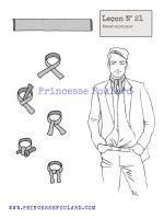 Leçon numéro 21 : Nœud de foulard cusinier pour homme