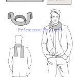 Nœud de foulard gentleman farmer ou parisian