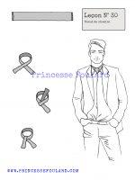 Leçon numéro 30 : Nœud de foulard pour chemise pour homme