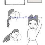Technique de coiffure pour attacher un foulard afro