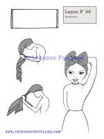 Leçon numéro 96 : Nœud de foulard afro