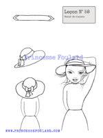 leçon numéro 58 : nœud de foulard pour chapeau