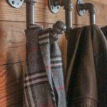 Idées pour accrocher des foulards et écharpes