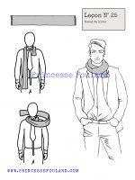 Leçon numéro 25 : Nœud de foulard d'hiver pour homme