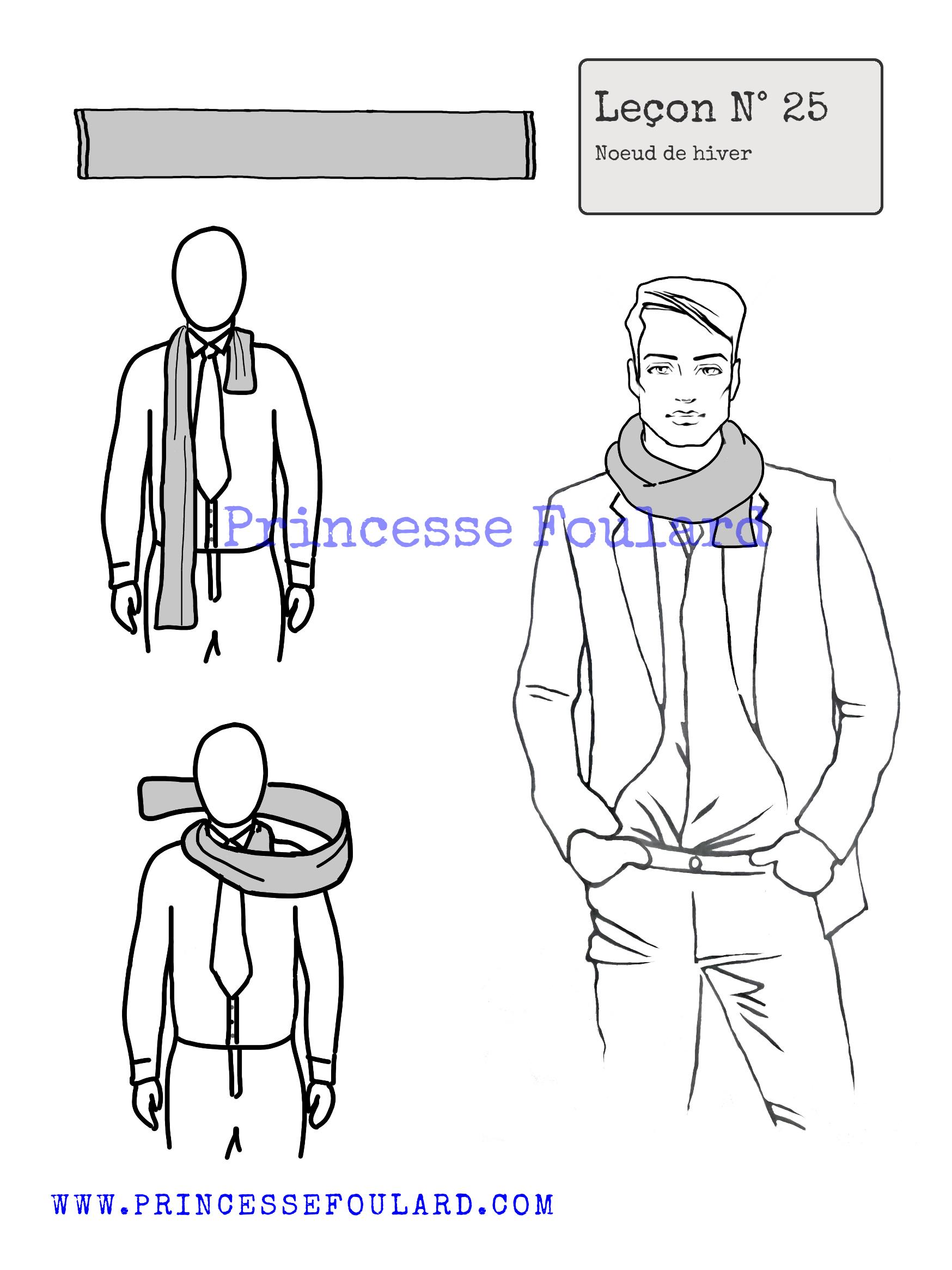 magasin britannique bon ajustement mode Comment nouer,porter, mettre une écharpe ?