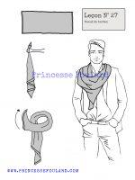 Leçon numéro 27 : Nœud de tartan pour homme
