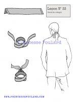 Leçon numéro 33 : Nœud de catogan pour homme