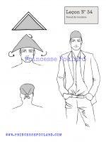Leçon numéro 34 : Nœud de bandana pour homme
