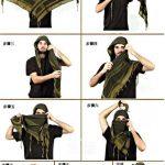 Comment mettre foulard chèche militaire ou berbère ?