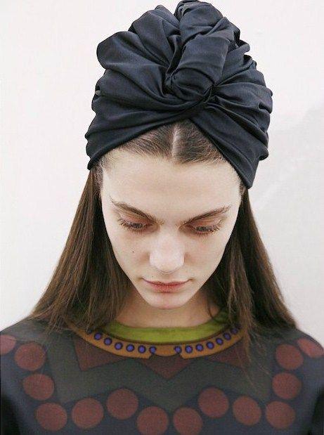 Comment Se Couvrir La Tête Avec Un Foulard