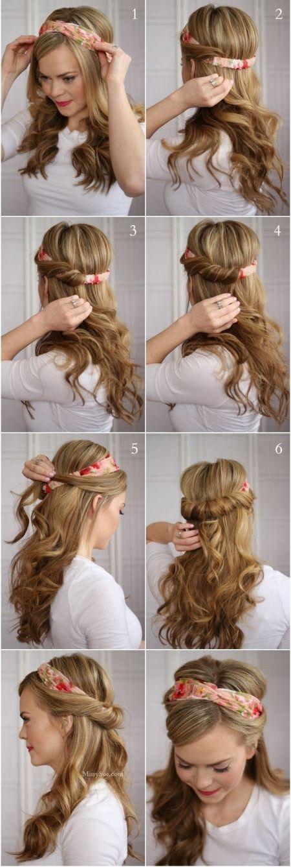 Comment Mettre Porter Un Bandeau Cheveux Courts Ou Longs