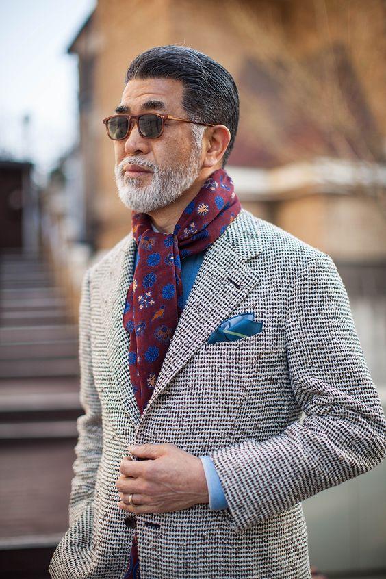 ac6cfbf07b9d Comment porter, nouer, mettre foulard homme